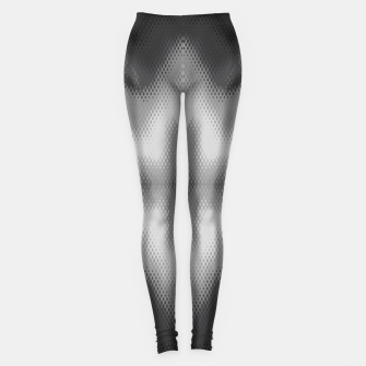 Thumbnail image of Abstract spark gray Leggings, Live Heroes