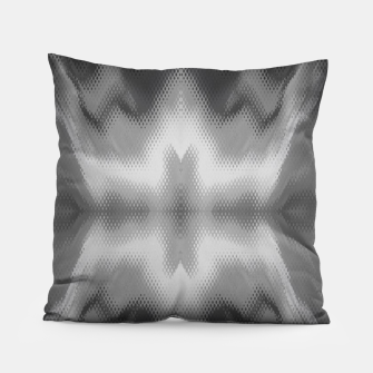 Thumbnail image of Abstract spark gray Pillow, Live Heroes