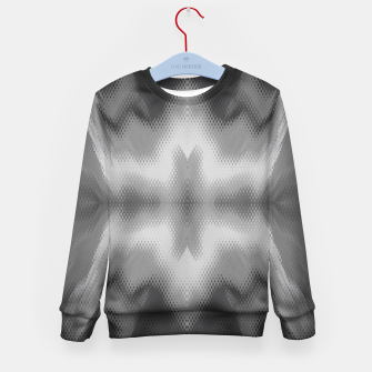 Thumbnail image of Abstract spark gray Kid's sweater, Live Heroes