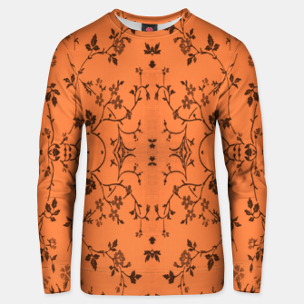 Thumbnail image of Vines and flowers Unisex sweater, Live Heroes