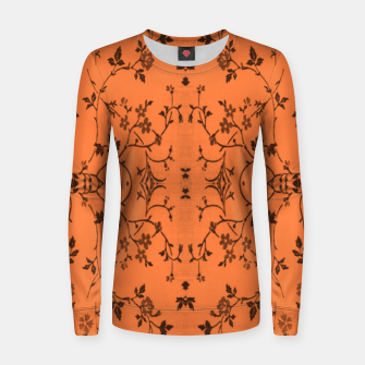 Thumbnail image of Vines and flowers Women sweater, Live Heroes