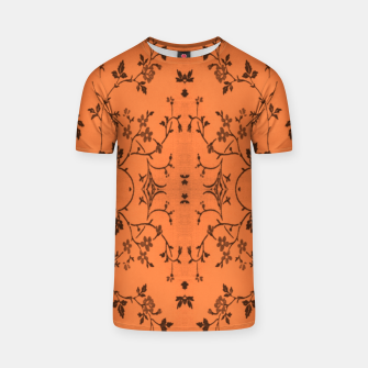 Thumbnail image of Vines and flowers T-shirt, Live Heroes