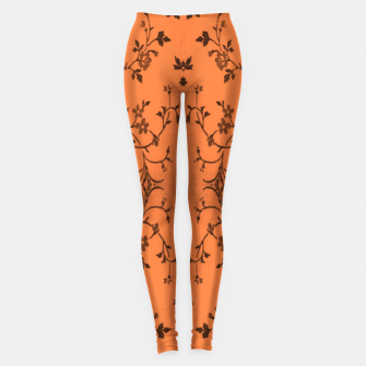 Thumbnail image of Vines and flowers Leggings, Live Heroes