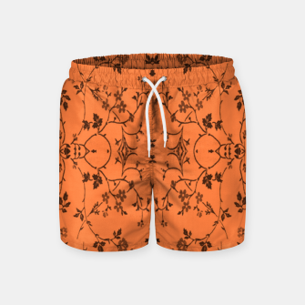 Thumbnail image of Vines and flowers Swim Shorts, Live Heroes