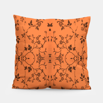 Thumbnail image of Vines and flowers Pillow, Live Heroes