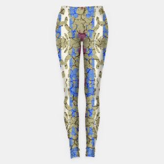 Thumbnail image of Ornament Striped Textured Colored Pattern Leggings, Live Heroes