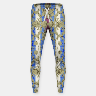 Thumbnail image of Ornament Striped Textured Colored Pattern Sweatpants, Live Heroes