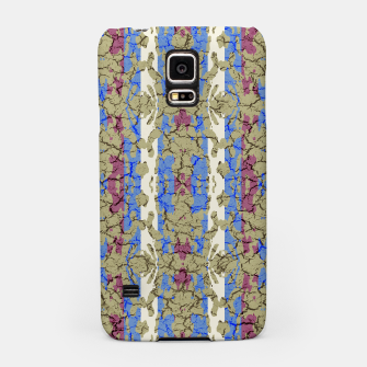 Miniatur Ornament Striped Textured Colored Pattern Samsung Case, Live Heroes
