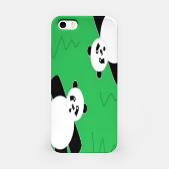 Thumbnail image of Panda bears on grass iPhone Case, Live Heroes