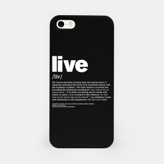 Thumbnail image of Define LIVE in black, Live Heroes