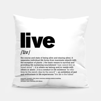 Thumbnail image of define LIVE in white, Live Heroes