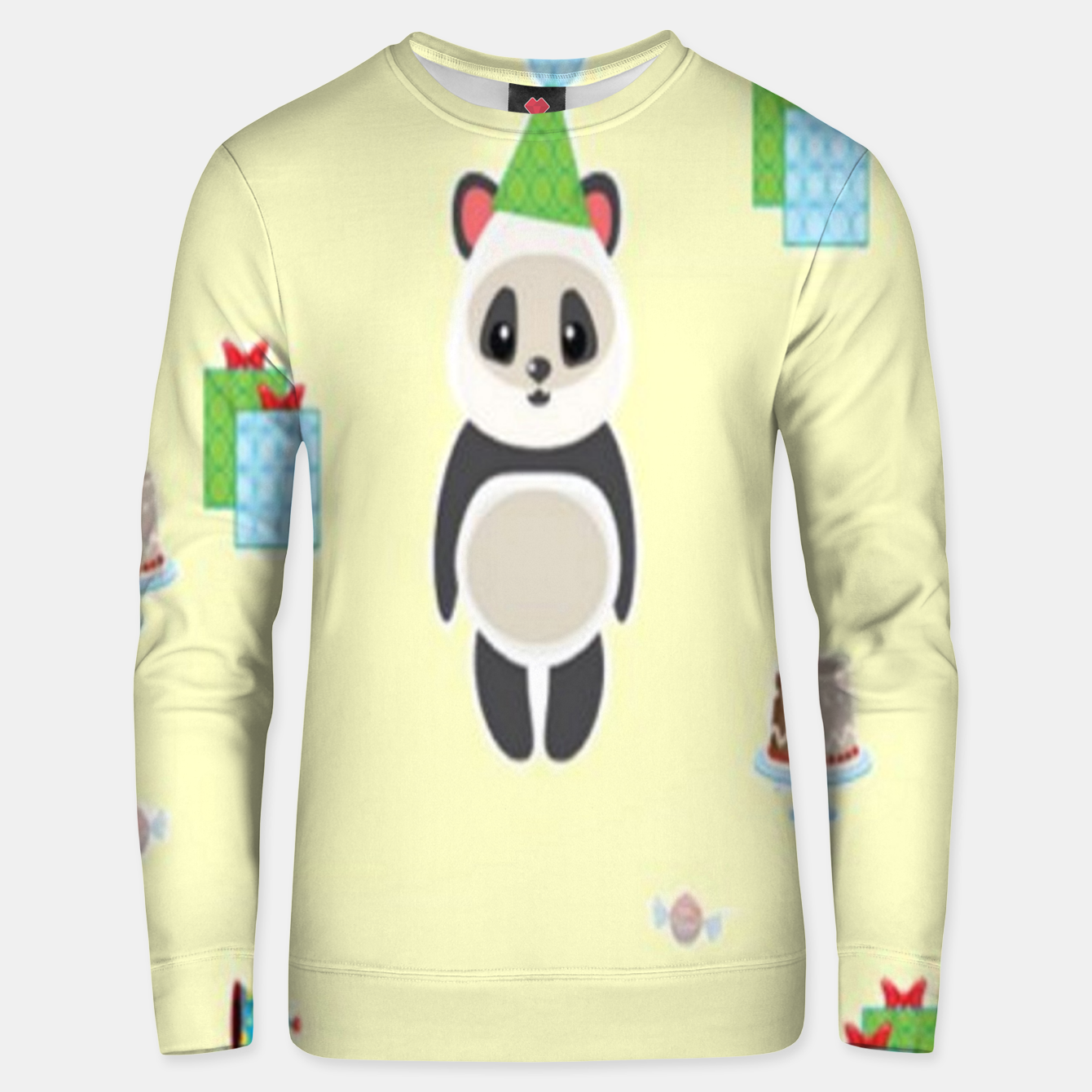 Image of Panda party Unisex sweater - Live Heroes