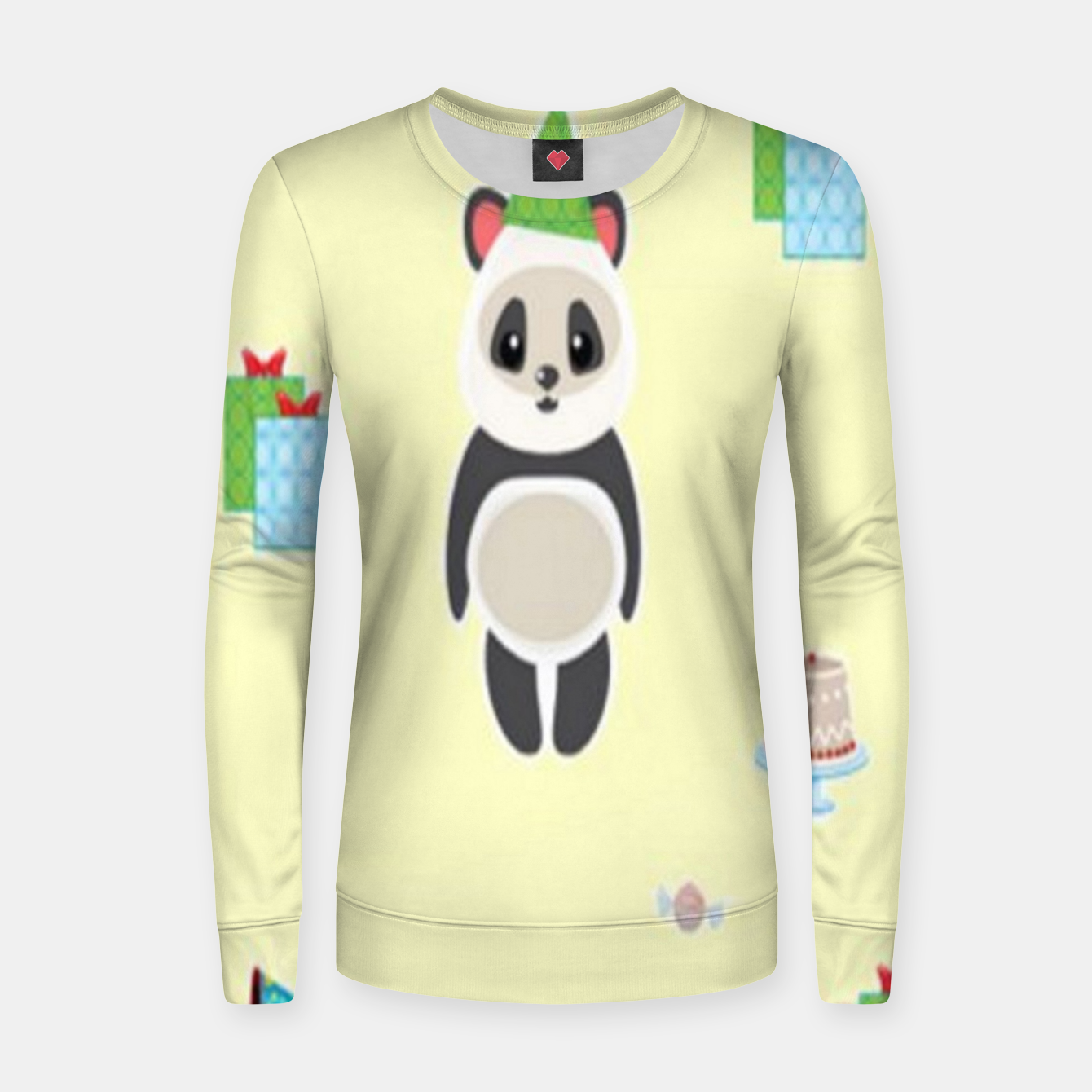 Image of Panda party Women sweater - Live Heroes