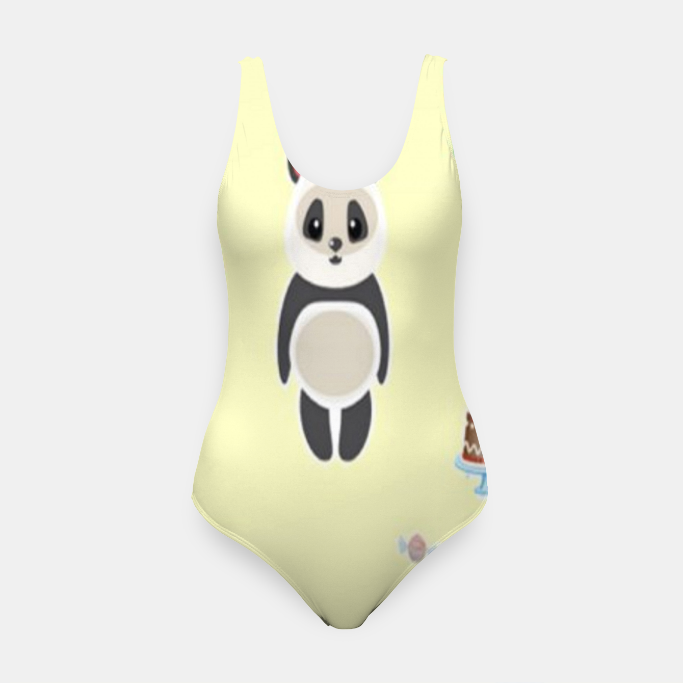 Image of Panda party Swimsuit - Live Heroes