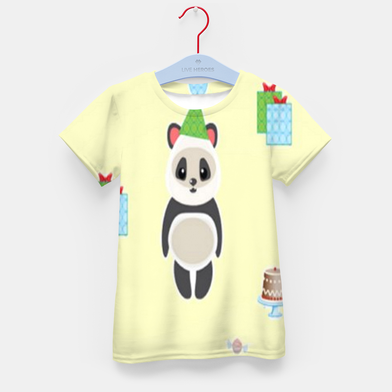Image of Panda party Kid's t-shirt - Live Heroes