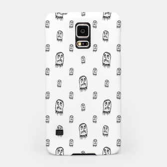 Thumbnail image of Sketchy Monster Pencil Drawing Motif Pattern Samsung Case, Live Heroes