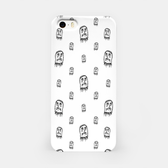 Thumbnail image of Sketchy Monster Pencil Drawing Motif Pattern iPhone Case, Live Heroes