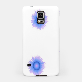 Thumbnail image of Blue flowers on white Samsung Case, Live Heroes