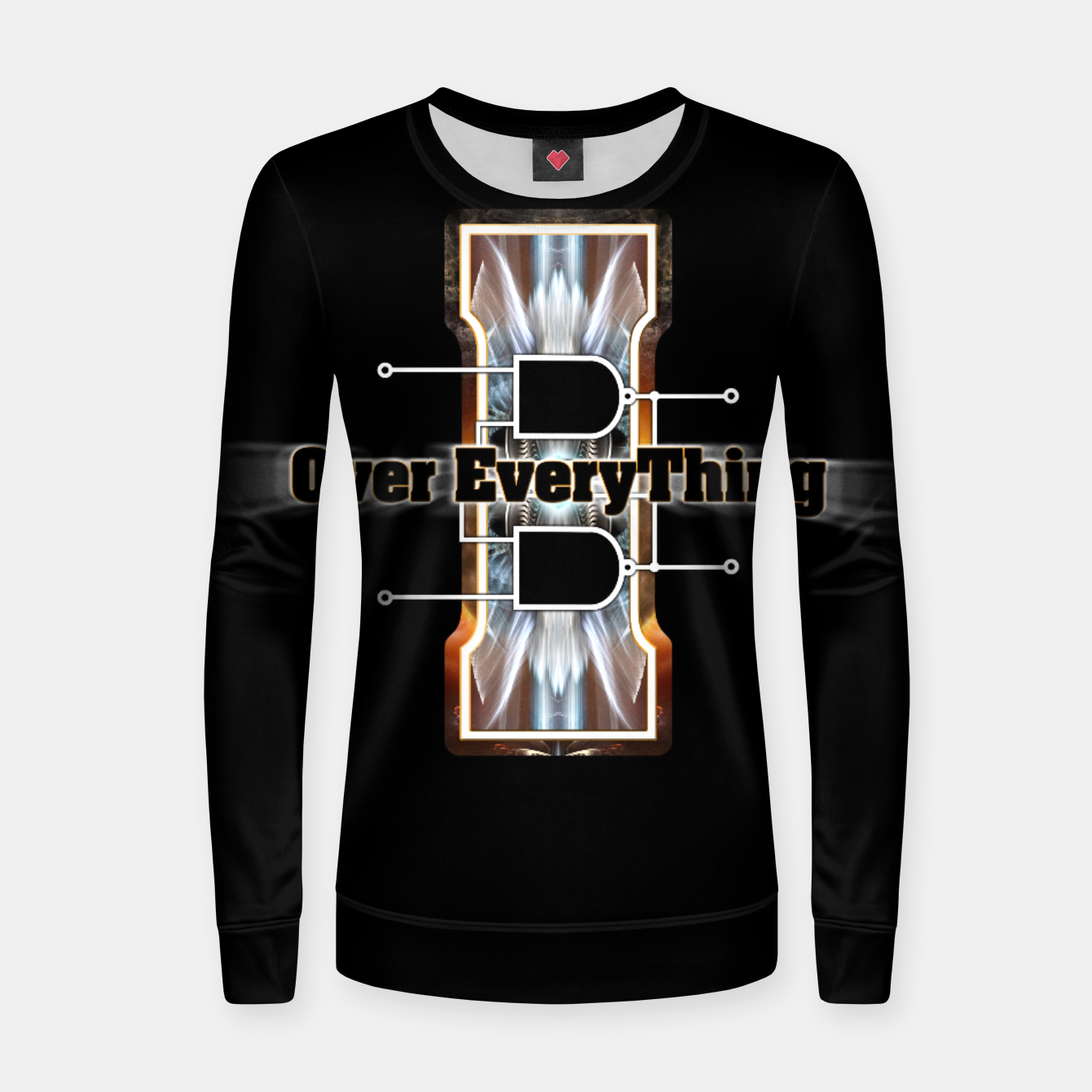 Image of I Flip-Flop Over Everything Boolean Circuit Women sweater - Live Heroes