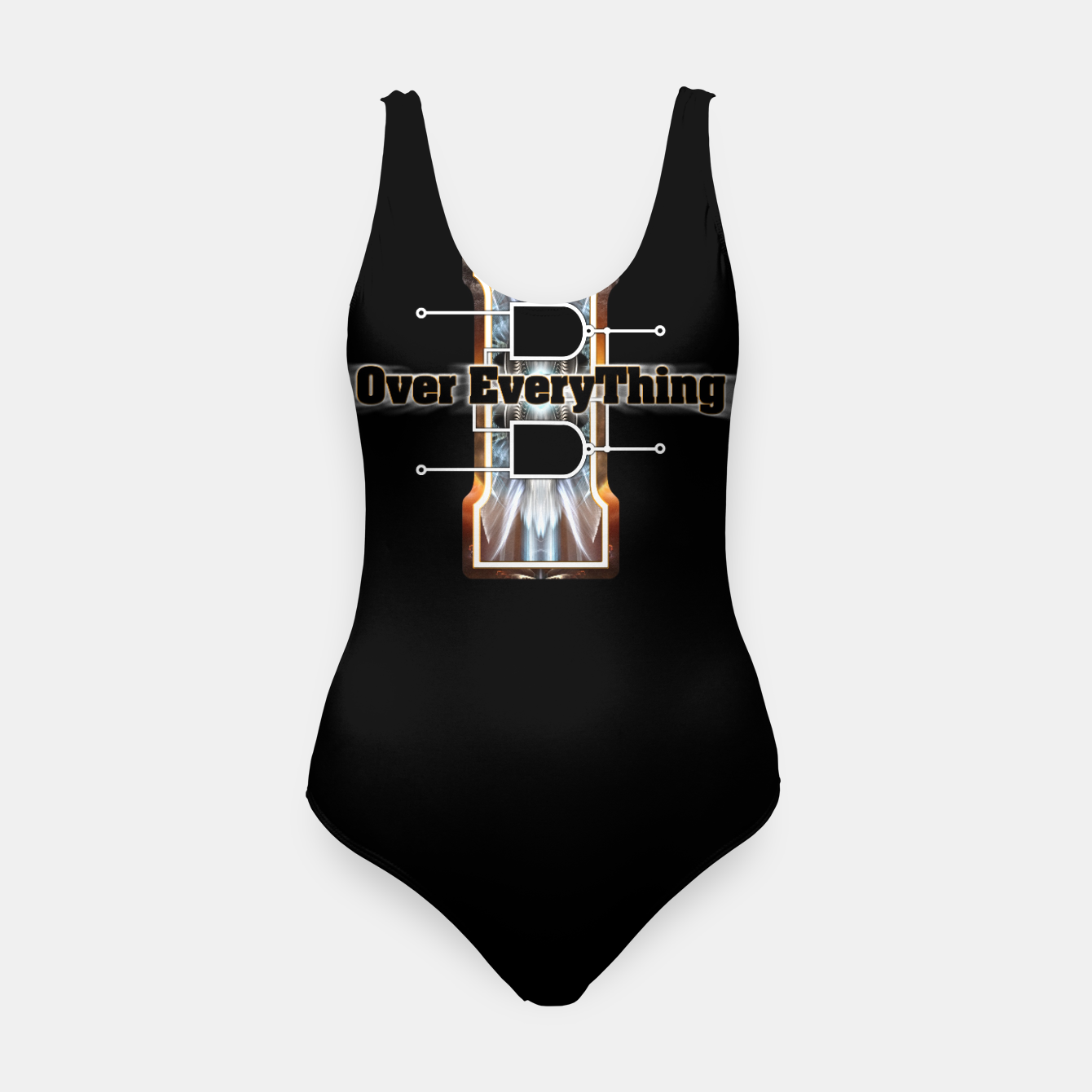 Image of I Flip-Flop Over Everything Boolean Circuit Swimsuit - Live Heroes