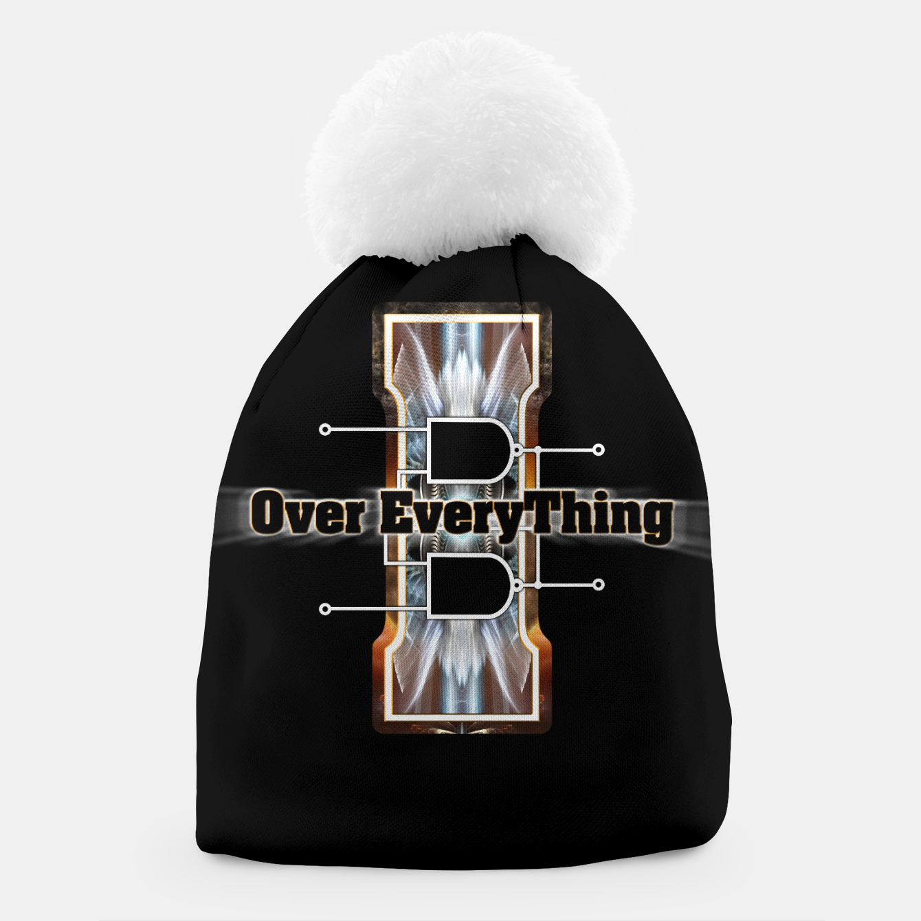 Image of I Flip-Flop Over Everything Boolean Circuit Beanie - Live Heroes