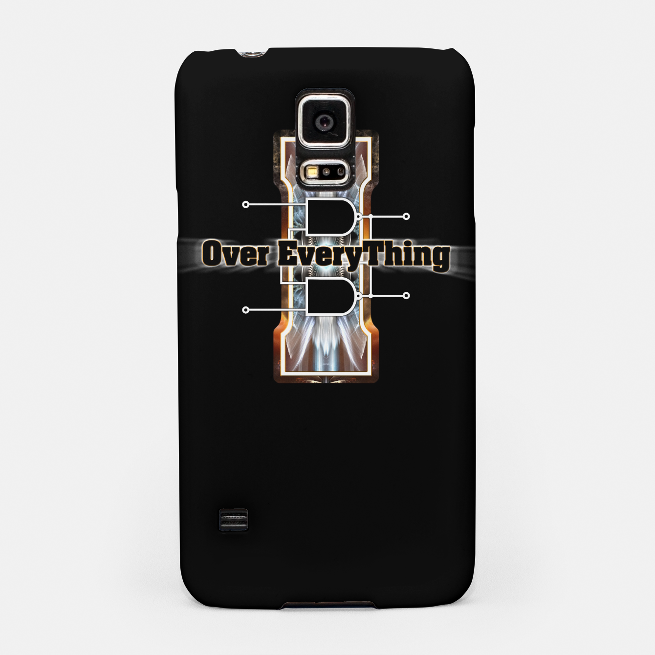 Image of I Flip-Flop Over Everything Boolean Circuit Samsung Case - Live Heroes