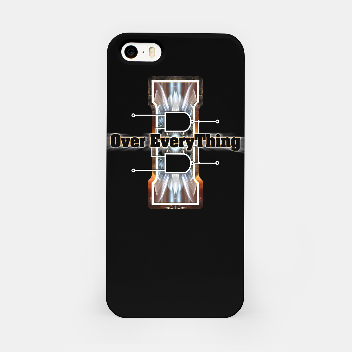 Image of I Flip-Flop Over Everything Boolean Circuit iPhone Case - Live Heroes