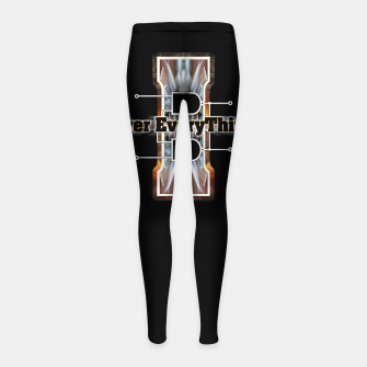 I Flip-Flop Over Everything Boolean Circuit Girl's leggings thumbnail image