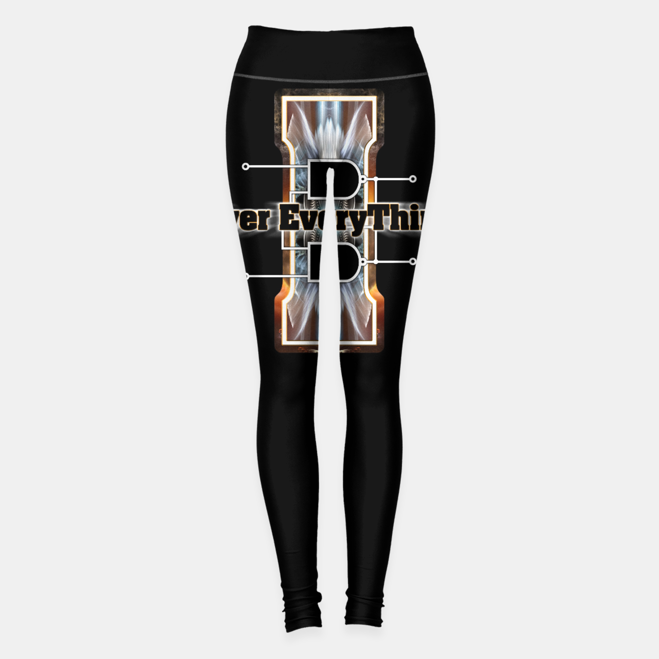 Image of I Flip-Flop Over Everything Boolean Circuit Leggings - Live Heroes