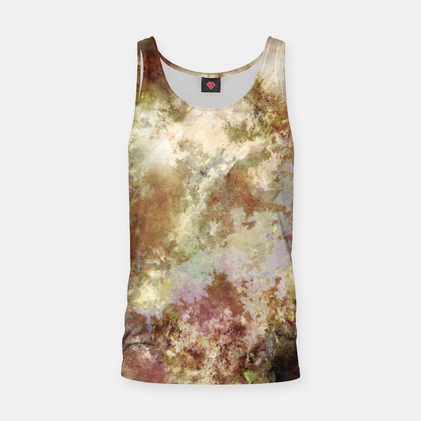 Image of Crumbling wall Tank Top - Live Heroes