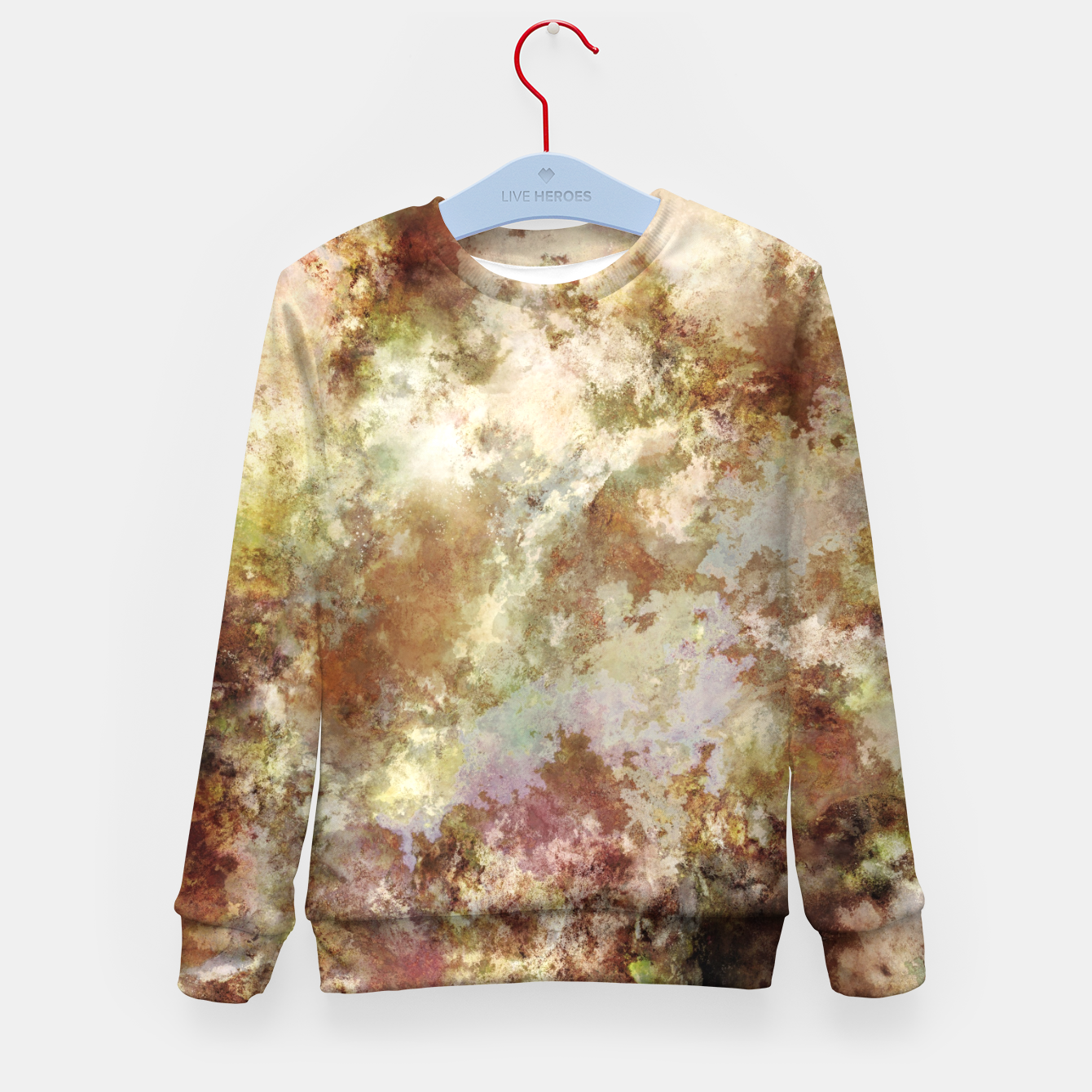 Image of Crumbling wall Kid's sweater - Live Heroes