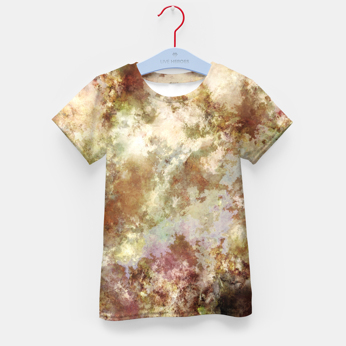 Image of Crumbling wall Kid's t-shirt - Live Heroes