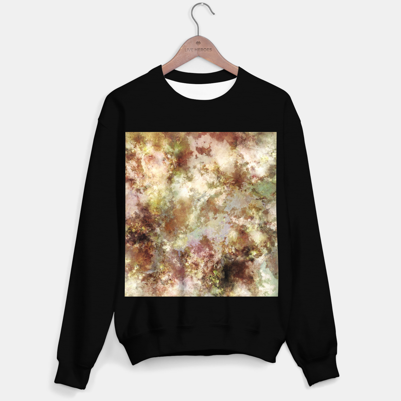 Image of Crumbling wall Sweater regular - Live Heroes