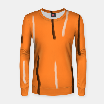 Thumbnail image of Tiger lines Women sweater, Live Heroes