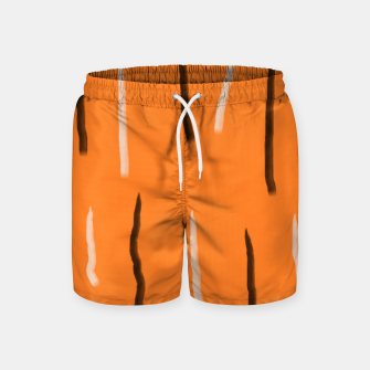 Thumbnail image of Tiger lines Swim Shorts, Live Heroes