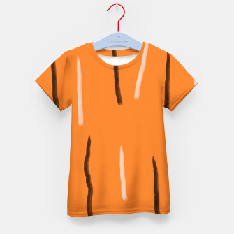 Thumbnail image of Tiger lines Kid's t-shirt, Live Heroes