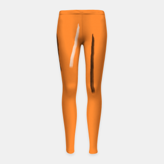 Thumbnail image of Tiger lines Girl's leggings, Live Heroes