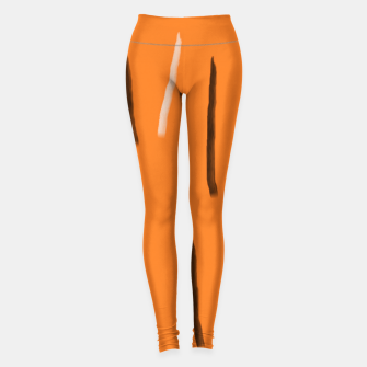 Thumbnail image of Tiger lines Leggings, Live Heroes