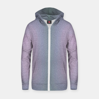 Thumbnail image of Ombre textured Zip up hoodie, Live Heroes