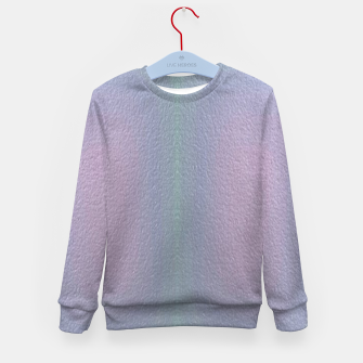 Thumbnail image of Ombre textured Kid's sweater, Live Heroes