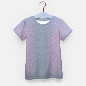 Thumbnail image of Ombre textured Kid's t-shirt, Live Heroes