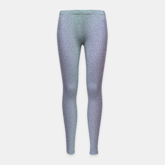 Thumbnail image of Ombre textured Girl's leggings, Live Heroes