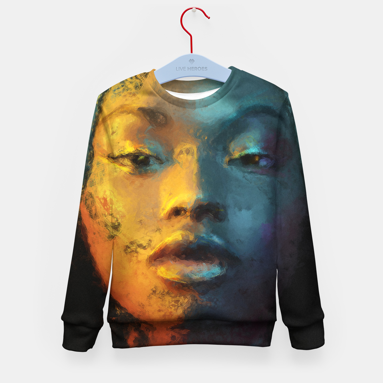 Image of just be Kid's sweater - Live Heroes