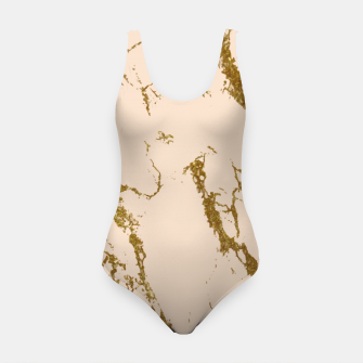Miniaturka Blush & Gold Marble Swimsuit, Live Heroes