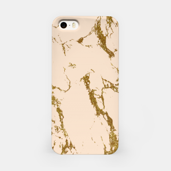 Miniaturka Blush & Gold Marble iPhone Case, Live Heroes