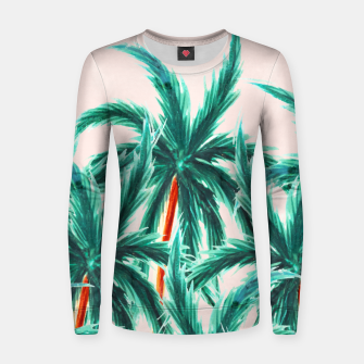 Thumbnail image of Coconut Trees Women sweater, Live Heroes