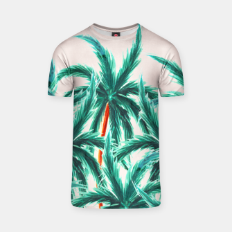 Thumbnail image of Coconut Trees T-shirt, Live Heroes
