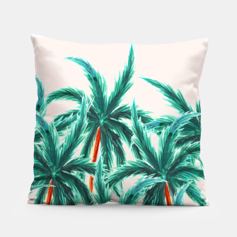 Thumbnail image of Coconut Trees Pillow, Live Heroes