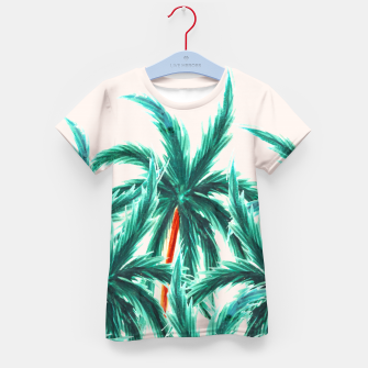 Thumbnail image of Coconut Trees Kid's t-shirt, Live Heroes