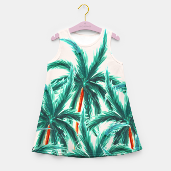 Thumbnail image of Coconut Trees Girl's summer dress, Live Heroes